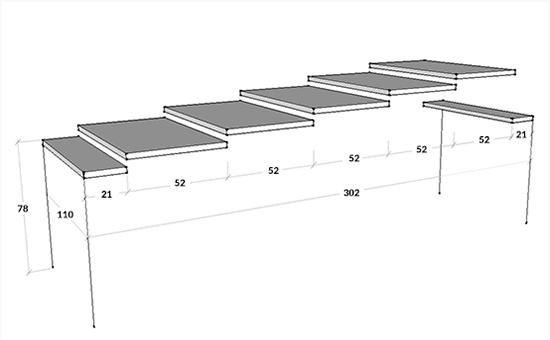 Tavolo Consolle Allungabile Arcobaleno.Arcobaleno 110