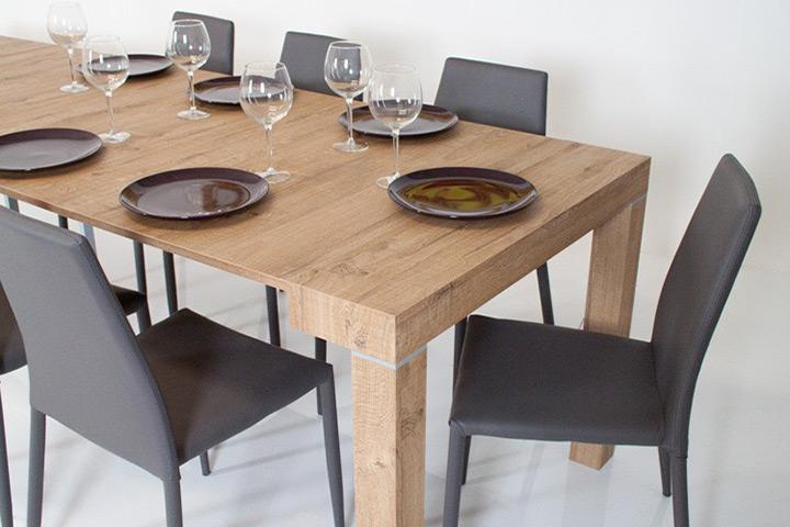 Tavolo consolle allungabile moderna imperial cucina sog - Tavolo 14 posti ...