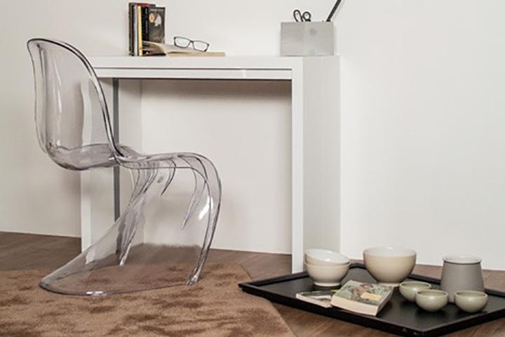 Tavolo consolle moderna allungabile 3 metri new net l 110 for Tavolo cucina 2 posti