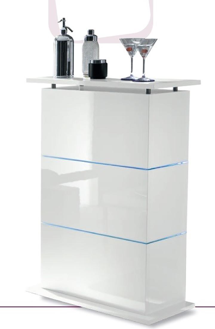 Mobile bar contenitore moderno primo bianco laccato lucido - Mobile bar bianco ...