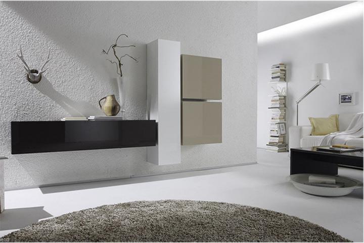 Pareti Attrezzate Soggiorno Moderne : Parete attrezzata soggiorno ...