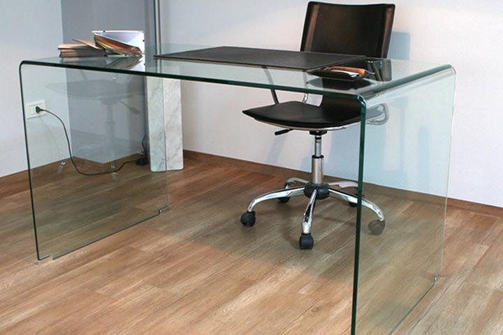Scrivanie vetro ufficio with scrivanie vetro ufficio for Scrivanie in cristallo